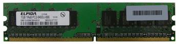 EBE10UE8ACWA-8G-E Elpida 1GB DDR2 Non ECC PC2-6400 800Mhz Memory