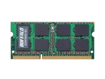D3N1600-8G Buffalo 8GB DDR3 SoDimm Non ECC PC3-12800 1600Mhz 2Rx8 Memory