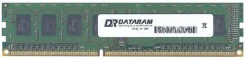 DTM64329 Dataram 4GB DDR3 Non ECC PC3-10600 1333Mhz 2Rx8 Memory