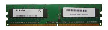 EBE10EE8ACWA-8E-E Elpida 1GB DDR2 Non ECC PC2-6400 800Mhz Memory