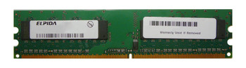 EBE10UE8ACWB-8E-E Elpida 1GB DDR2 Non ECC PC2-6400 800Mhz Memory