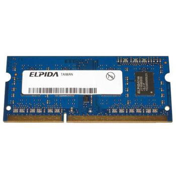 EBJ11UE6BBS0-8C-F Elpida 1GB DDR3 SoDimm Non ECC PC3-6400 800Mhz 2Rx6 Memory