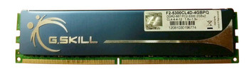 F2-5300CL4D-4GBPQ G Skill 4GB (2x2GB) DDR2 Non ECC PC2-5300 667Mhz Memory
