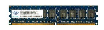 NT1GT72U8PB0BY-3C Nanya 1GB DDR2 ECC PC2-5300 667Mhz Memory