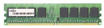 UG12T6400M8DU-6AK Unigen 1GB DDR2 Non ECC PC2-5300 667Mhz Memory