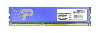 PSD31G133381H Patriot 2GB (2x1GB) DDR3 Non ECC PC3-10600 1333Mhz Memory