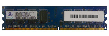 NT2GT64U8HD0BY-3C Nanya 2GB DDR2 Non ECC PC2-5300 667Mhz Memory
