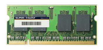 T800SA1G Super Talent 1GB DDR2 SoDimm Non ECC PC2-6400 800Mhz Memory
