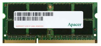 75.B93E2.G000C Apacer 4GB DDR3 SoDimm Non ECC PC3-12800 1600Mhz 1Rx8 Memory
