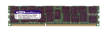 ACT16GHR72U4J1866S ACTICA 16GB DDR3 Registered ECC PC3-14900 1866Mhz 2Rx4 Memory