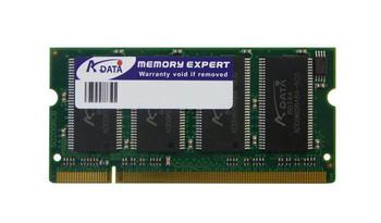 AD1266001GOS-64X8 ADATA 1GB DDR SoDimm Non ECC PC-2100 266Mhz Memory