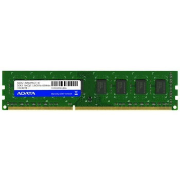 AD3U1600W8G11-B ADATA 8GB DDR3 Non ECC PC3-12800 1600Mhz 2Rx8 Memory