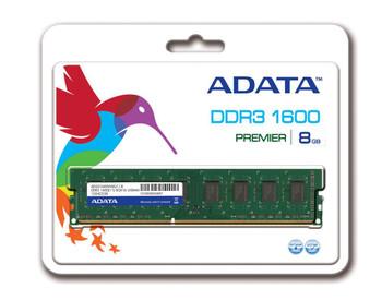AD3U1600W8G11-R ADATA 8GB DDR3 Non ECC PC3-12800 1600Mhz 2Rx8 Memory