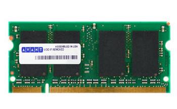 AVK6464U52C5333K2 Avant 512MB DDR SoDimm Non ECC PC-2700 333Mhz Memory