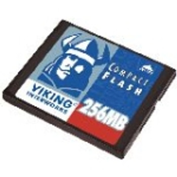 CF-ADAPT32/256MB Viking 256MB CompactFlash (CF) Memory Card