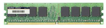 D2-2G667QI Super Talent 2GB DDR2 Non ECC PC2-5300 667Mhz Memory