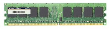 D2-1G667AE Super Talent 1GB DDR2 Non ECC PC2-5300 667Mhz Memory