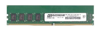 DTM68110B Dataram 8GB DDR4 ECC PC4-17000 2133Mhz 2Rx8 Memory