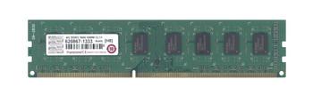 JM1600KLN-4G Transcend 4GB DDR3 Non ECC PC3-12800 1600Mhz 2Rx8 Memory