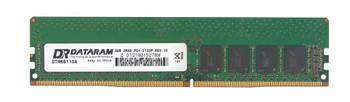 DTM68110A Dataram 8GB DDR4 ECC PC4-17000 2133Mhz 2Rx8 Memory