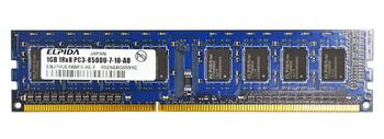 EBJ10UE8BBF0-AE-F Elpida 1GB DDR3 Non ECC PC3-8500 1066Mhz Memory