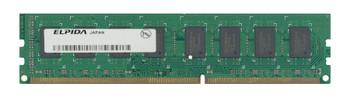 EBJ10UE8BAW0-8A-E Elpida 1GB DDR3 Non ECC PC3-6400 800Mhz Memory