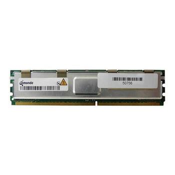 HY572T256420HFN-35-A Qimonda 2GB DDR2 Fully Buffered FB ECC PC2-5300 667Mhz 2Rx4 Memory