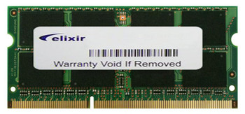 M2S8G64CB8HB5N-DI Elixir 8GB DDR3 SoDimm Non ECC PC3-12800 1600Mhz 2Rx8 Memory