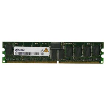 HY72D256220HBR-5-B Qimonda 2GB DDR Registered ECC PC-3200 400Mhz 2Rx4 Memory