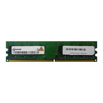 HYS64T256020EU-25F-B Qimonda 2GB DDR2 Non ECC PC2-6400 800Mhz 2Rx8 Memory