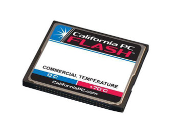 FCF-512MB-3142-SD California PC 512MB Industrial Grade CompactFlash (CF) Type I Removable Disk Mode