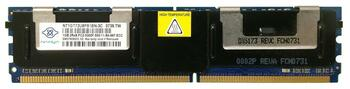 NT1GT72U8PB1BN-3C Nanya 1GB DDR2 Fully Buffered FB ECC PC2-5300 667Mhz 2Rx8 Memory