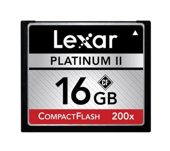LCF16GBSBNA200 Lexar Platinum II 16GB 200x CompactFlash (CF) Memory Card