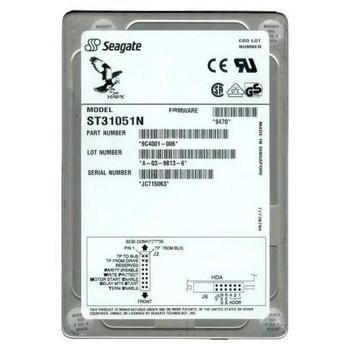 9C4001-006 Seagate 1GB 5400RPM Fast SCSI 3.5 128KB Cache Hard Drive