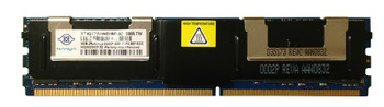 NT4GT72U4ND1BD-3C Nanya 4GB DDR2 Fully Buffered FB ECC PC2-5300 667Mhz 2Rx4 Memory