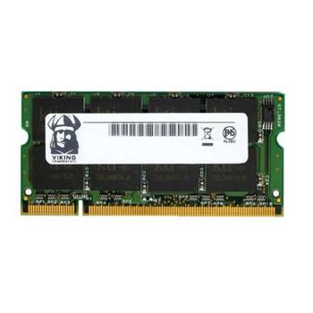 SNY500/512D Viking 512MB DDR SoDimm Non ECC PC-2100 266Mhz Memory