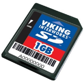 SD1GB-P Viking 1GB SD Flash Memory Card