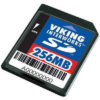 SD-ADAPT32/256MB Viking 256MB SD Flash Memory Card