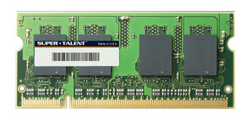 T800SB4G/M Super Talent 4GB DDR2 SoDimm Non ECC PC2-6400 800Mhz Memory