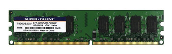T800UB2GV Super Talent 2GB DDR2 Non ECC PC2-6400 800Mhz Memory