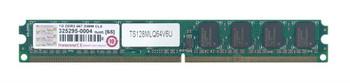 TS128MLQ64V6U Transcend 1GB DDR2 Non ECC PC2-5300 667Mhz Memory