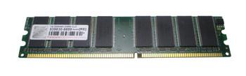 TS400D-1024 Transcend 1GB DDR Non ECC PC-3200 400Mhz Memory