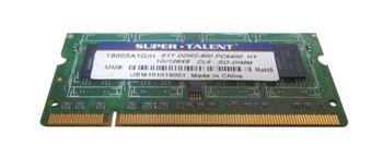 T800SA1G/H Super Talent 1GB DDR2 SoDimm Non ECC PC2-6400 800Mhz Memory