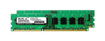 BD8GX21866MT22 Black Diamond 16GB (2x8GB) DDR3 Non ECC PC3-14900 1866Mhz Memory