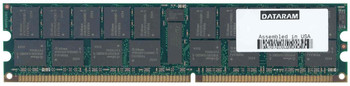 DRSX4100/4GB Dataram 4GB (2x2GB) DDR Registered ECC PC-3200 400Mhz Memory