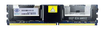NT4G72U4ND1BD-3C Nanya 4GB DDR2 Fully Buffered FB ECC PC2-5300 667Mhz 2Rx4 Memory