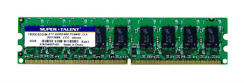 T800EB2G/M Super Talent 2GB DDR2 ECC PC2-6400 800Mhz Memory