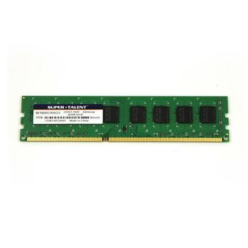 W1600UB8GS Super Talent 8GB DDR3 Non ECC PC3-12800 1600Mhz 2Rx8 Memory