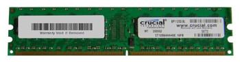 CT12864AA40E.16FB Crucial 1GB DDR2 Non ECC PC2-3200 400Mhz Memory