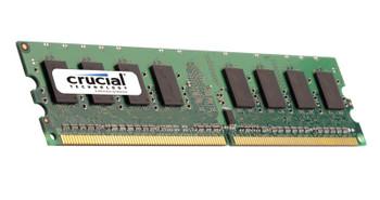 CT12864AA53E.L16F Crucial 1GB DDR2 Non ECC PC2-3200 400Mhz Memory